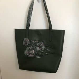 Handbags - Bag with unique embroidery & lining homemade